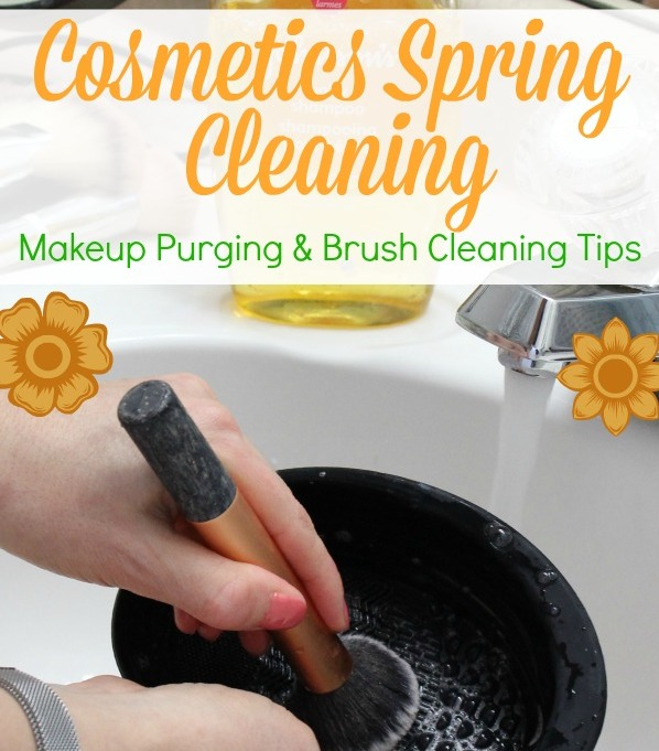cosmetics spring cleaning