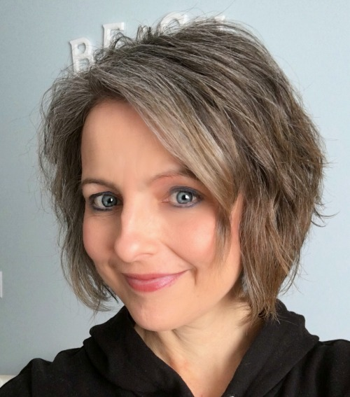 The Unexpected Results of Transitioning to Gray Hair in my ...