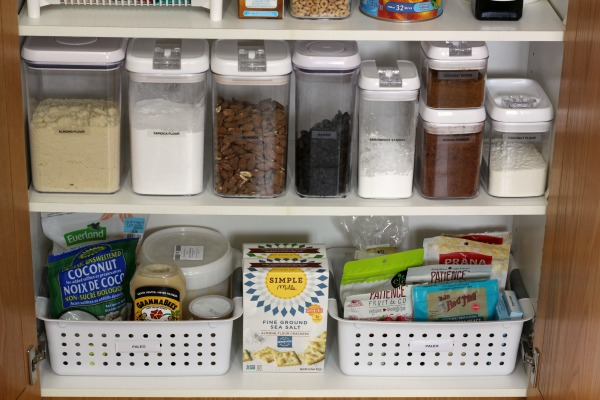 My Small Organized Pantry and how I maximize space at I'm an Organizing Junkie