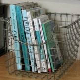 Dollar store wire basket