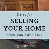 Selling Your Home with Kids