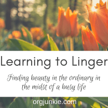 Learning to Linger