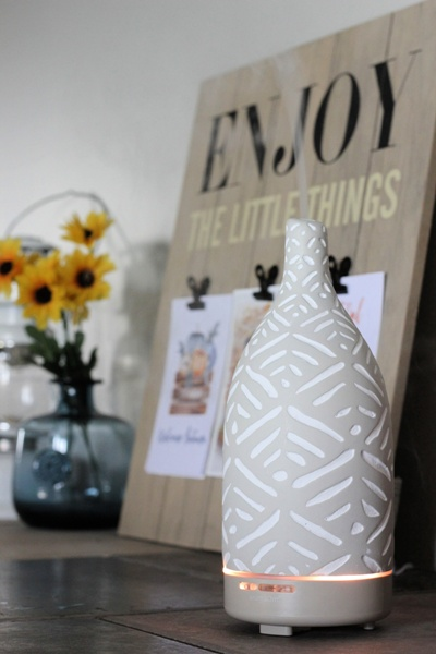 Jillian Harris diffuser with Saje