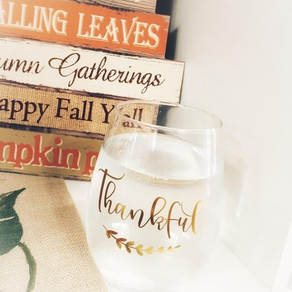 Thanksgiving Thankfulness