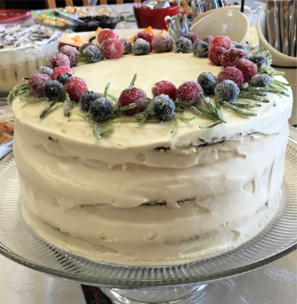 delicious cake from Walmart Live Better Magazine