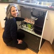 Organizing Underneath the Kitchen Sink