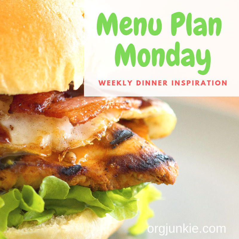 Menu Plan Monday for the week of July 1/19 ~ weekly dinner inspiration to help you get dinner on the table each night with less stress and chaos!