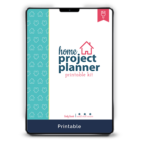 Home Project Planner Printable Kit