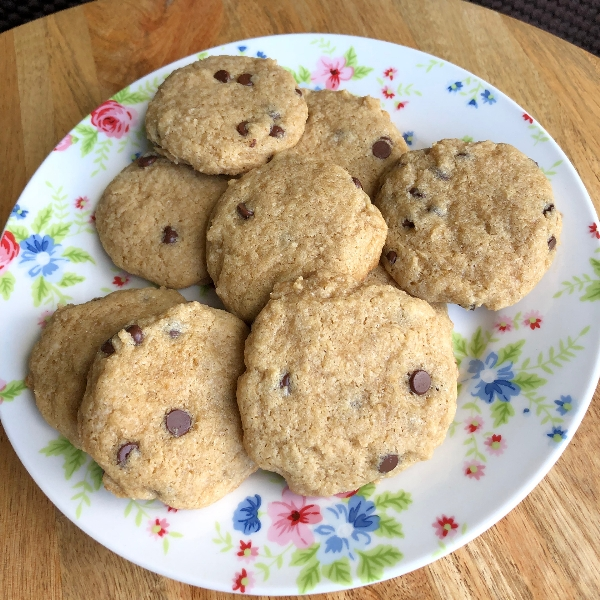 Gluten, Dairy, Egg-Free Chocolate Chip Cookies