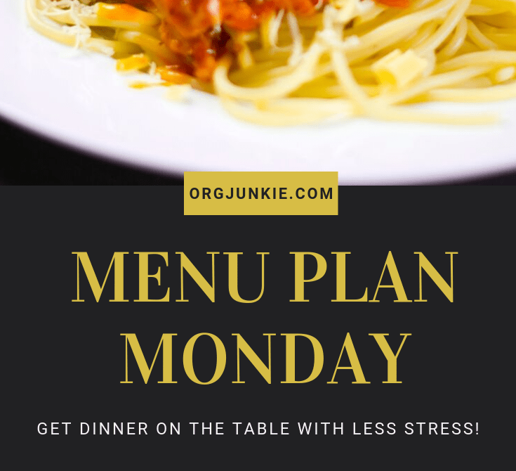 Menu Plan Monday for the week of Jan 6/20 - Weekly dinner inspiration to help you get dinner on the table with less stress and chaos