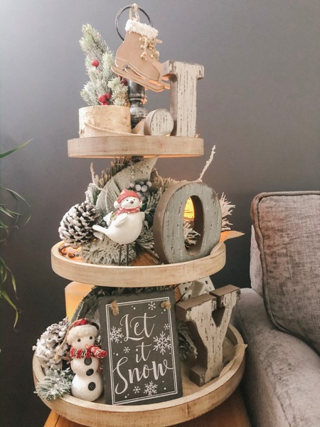joyful winter decor