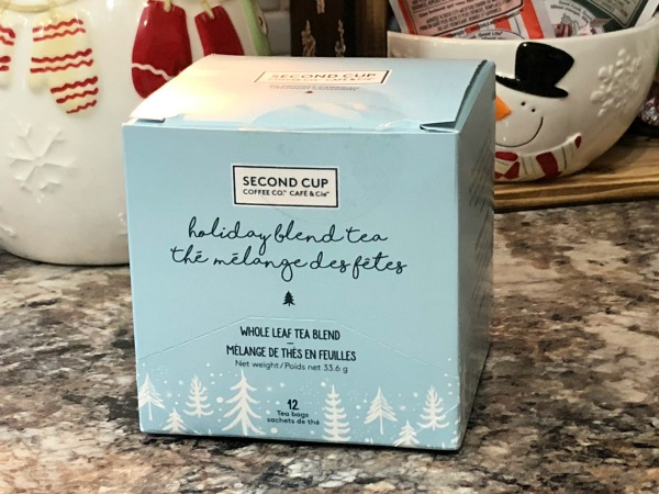 Second Cup holiday tea