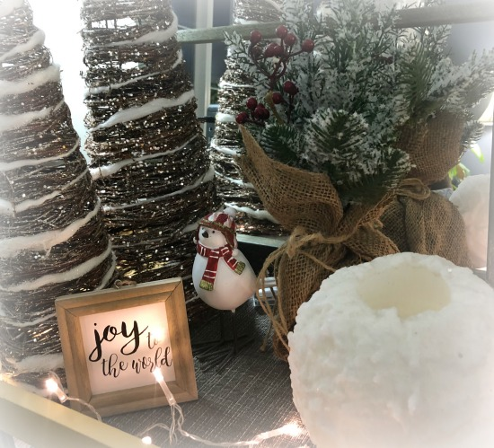 relaxing cozy winter decor
