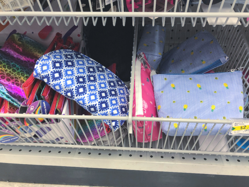 organize with pouches