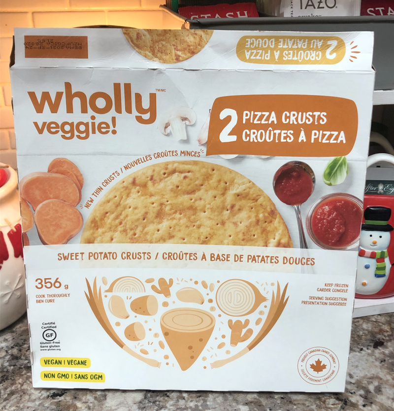 Wholly Veggie Sweet Potato Pizza Crusts