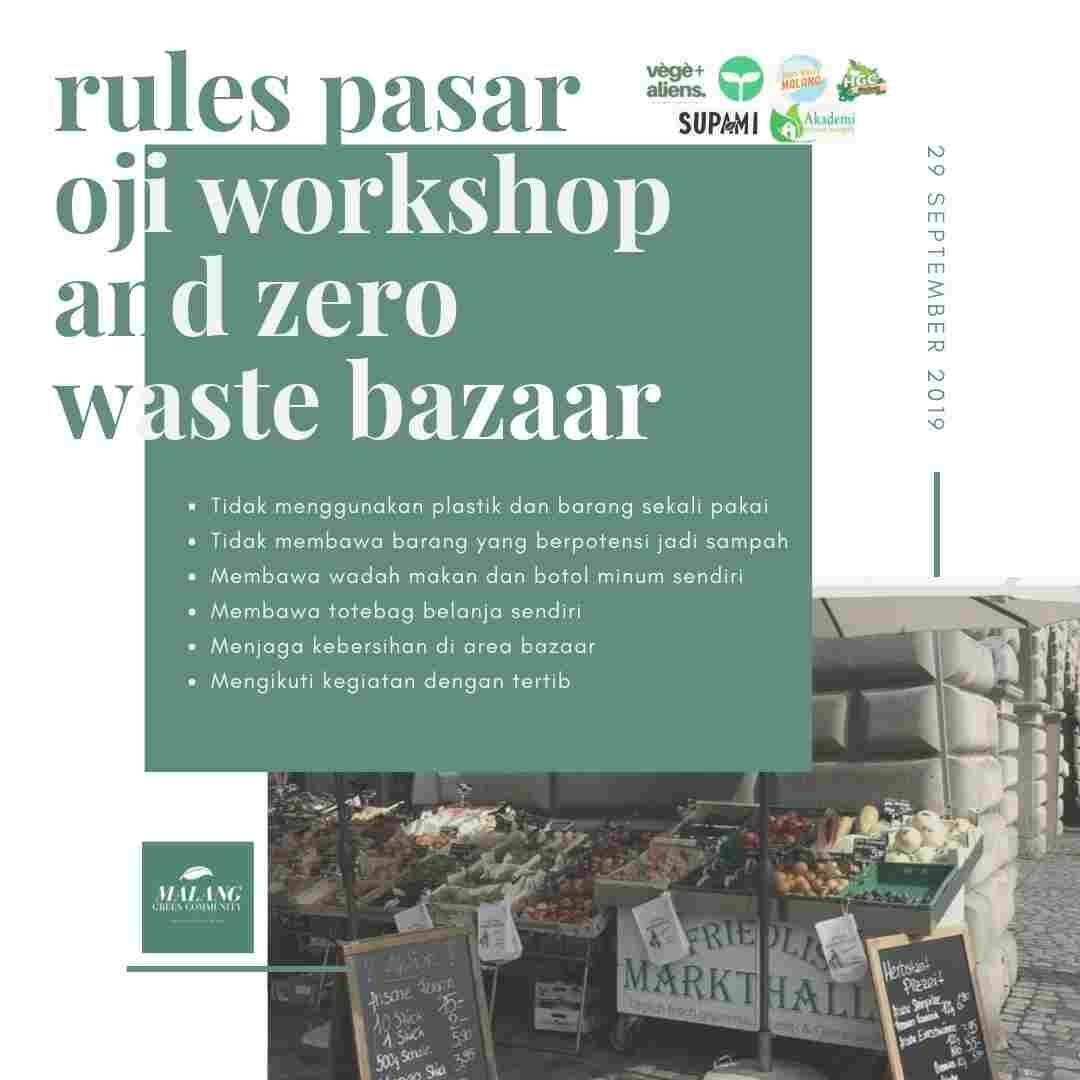 Peraturan bazar zero waste