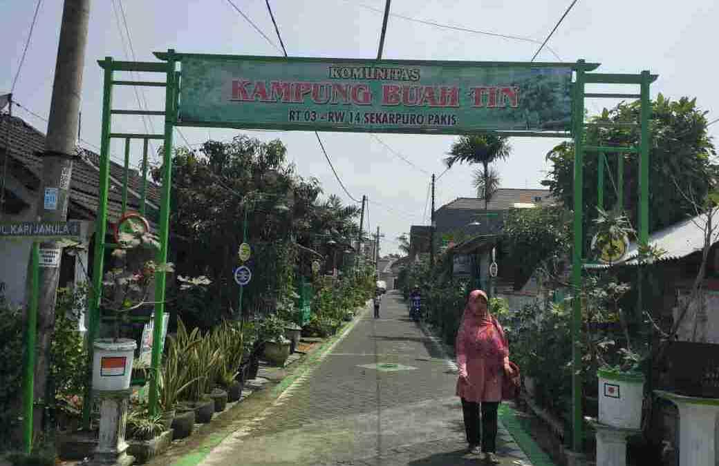Kampung Tin Malang, Kampung Tematik Peduli Lingkungan