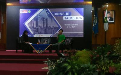 Dinneur Talkshow UMM: Bos Gogrin Paparkan Pentingnya Digital Marketing