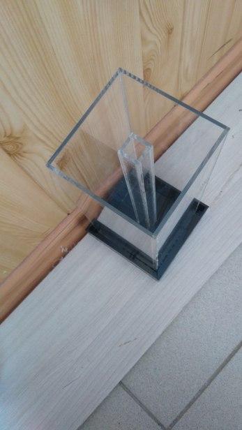 Измерительный короб из оргстекла