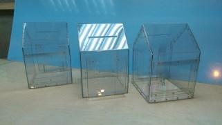 Ящики для сбора пожертвований в виде домиков