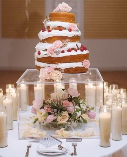 Подставка из оргстекла под торт