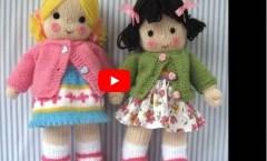 Bez Bebek Yapımı Örgüden Çok Kolay El Ev Yapımı Bebek Oyuncak Knitted Baby Sewing