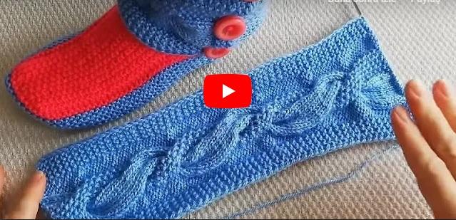 Pirinç Modelli Burgulu Bot Batik Modeli Yapılışı