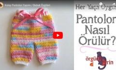 Kolay Bebek Pantolon Yapımı