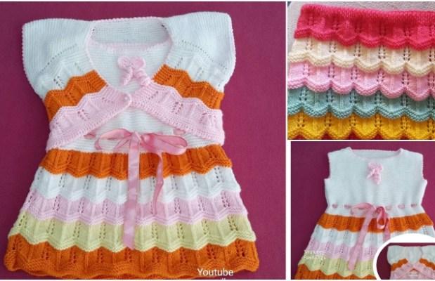 Kız Çocuğu Elbise ve Bolerosu Yapımı