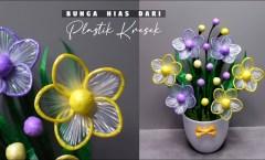 HİÇBİR ŞEY OLMADAN Plastik Torbalardan Çiçek Nasıl Yapılır El Sanatları