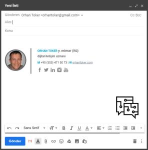 Gmail'inize Şık Bir İmza Ekleyin