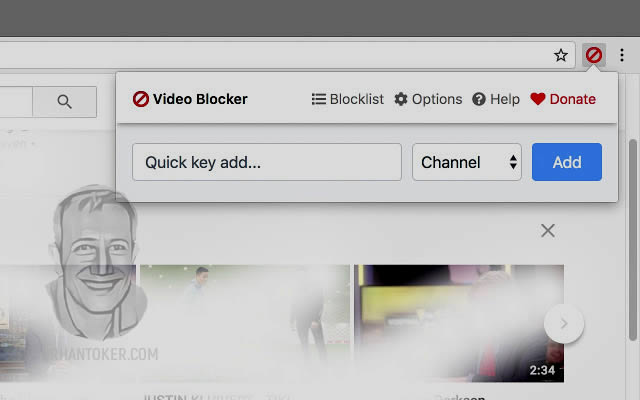 Video Blocker plugin