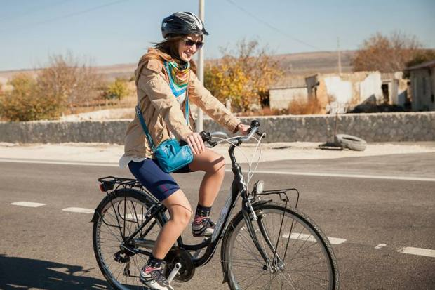 orheianca pe bicicleta