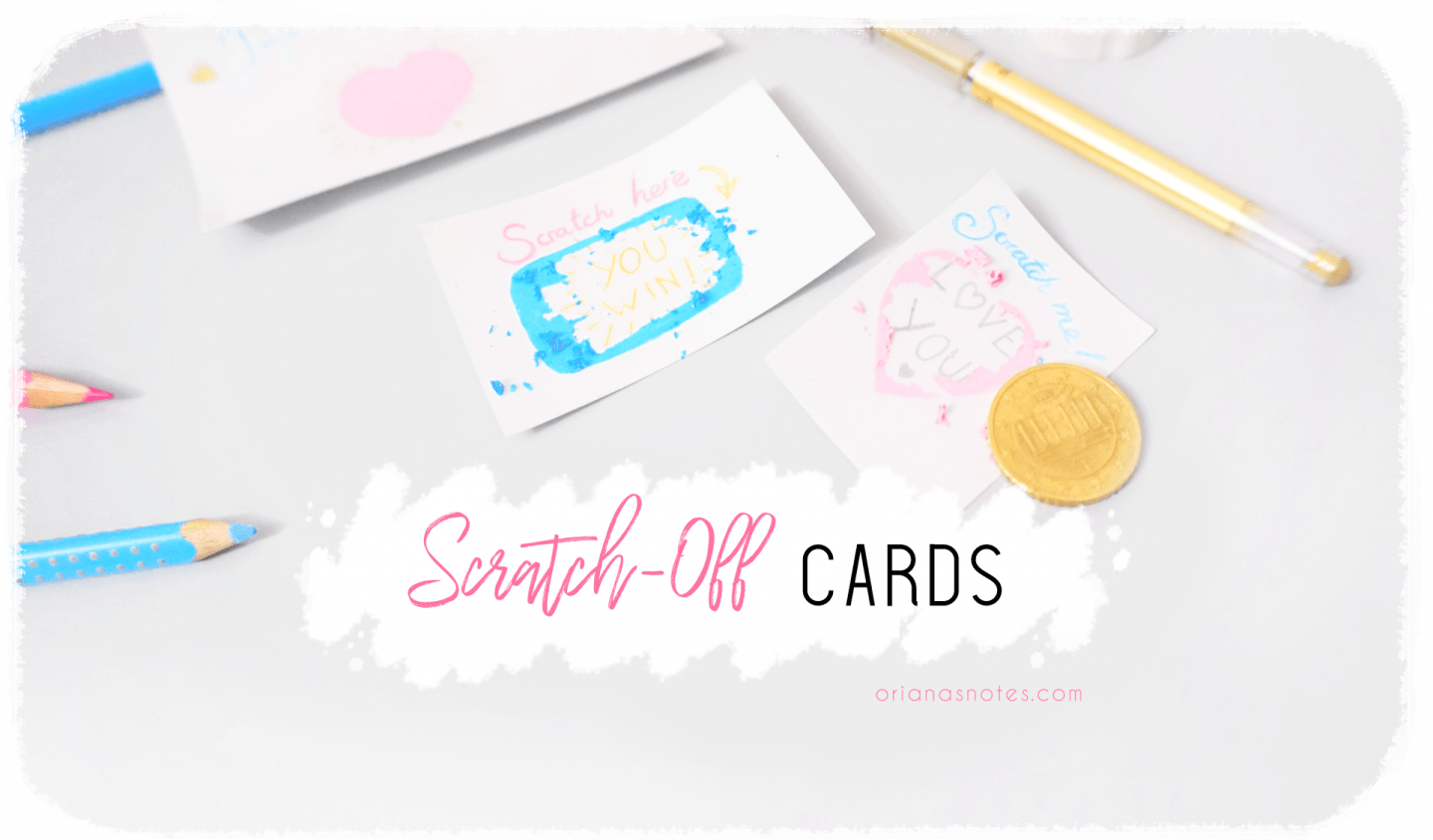 DIY – Cute Scratch-Off Cards