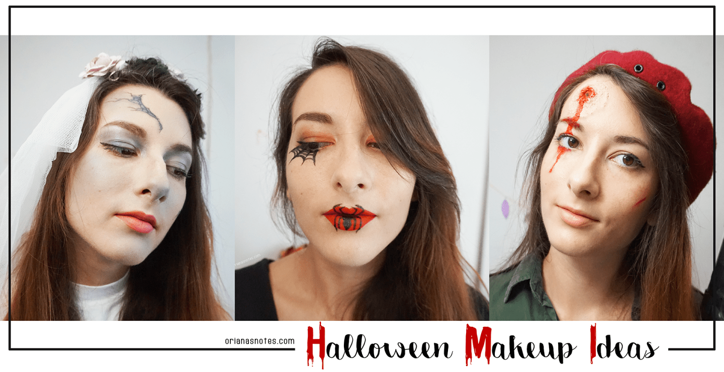 3 Halloween Makeup Ideas