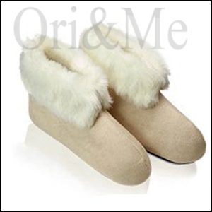 Opulent Icy Slippers