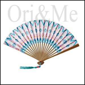 Saint Tropez Foldable Fan