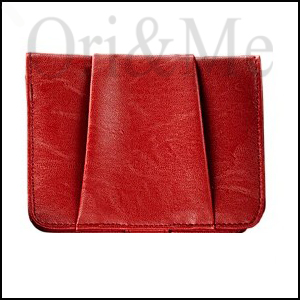 Deep Red Wallet