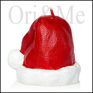 Santa Claus Hat Candle