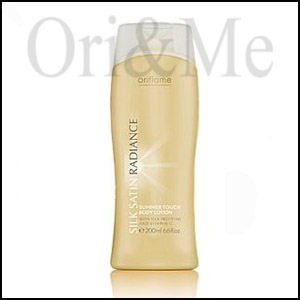 Silk Satin Radiance Summer Touch Body Lotion
