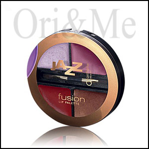 Oriflame Beauty Jazz Fusion Lip Palette