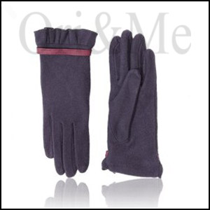 Burgundy Mix Gloves
