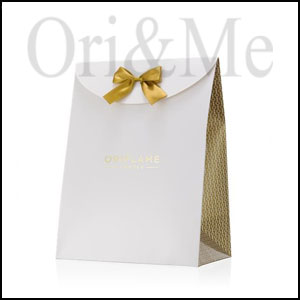 Cardboard Big Gift Bag Gold