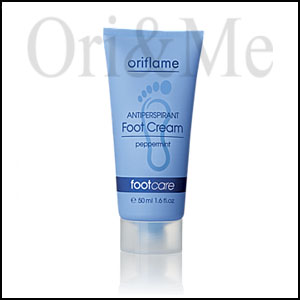 Antiperspirant Foot Cream