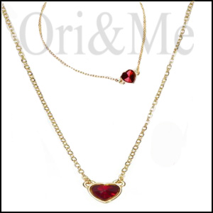 Valentine Red Heart Set