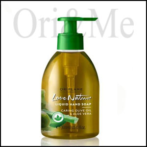 Love Nature Liquid Hand Soap Moisturising Olive Oil & Aloe Vera