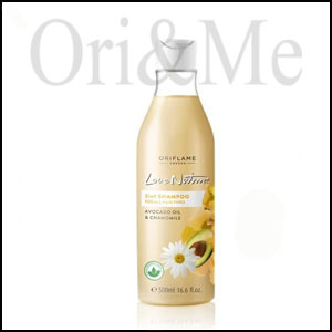 Love Nature 2in1 Shampoo for All Hair Types Avocado Oil & Chamomile Jumbo