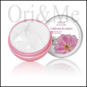 Wild Rose & Cotton Protecting Hair Mask