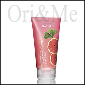 Body Scrub with Toning Pink Grapefruit & Ginkgo