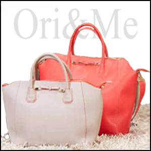 Two-Tone Overnight Bag